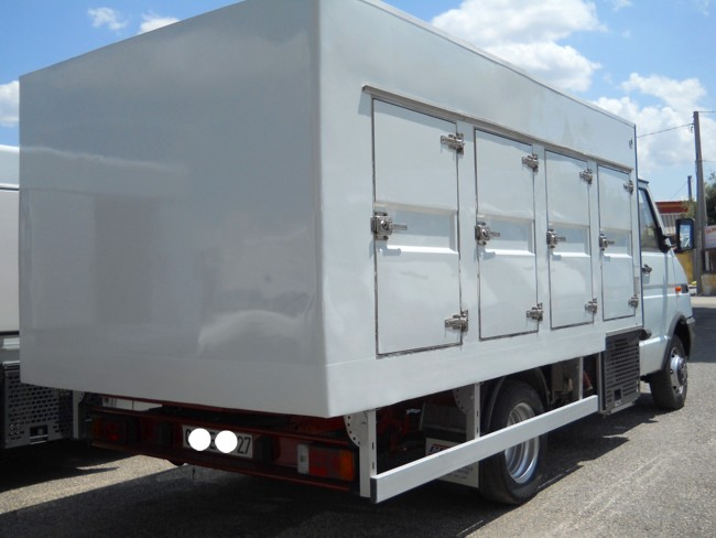 Camion trasporto gelati - Portata massima camion italia ...