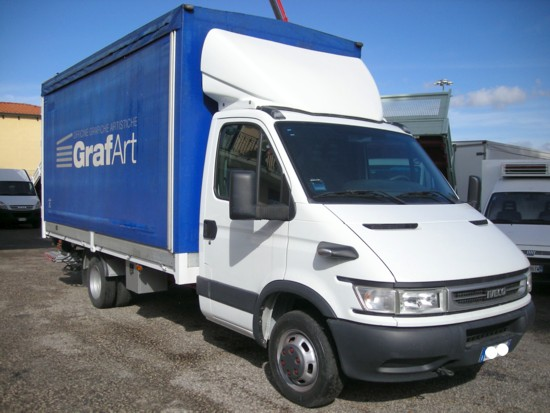 Iveco daily cassone usato modello 35c17 - Portata massima camion italia ...