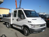:#DAILY-DOPPIA CABINA- 35C12  7 POSTI + CASSONE IVECO CAMION