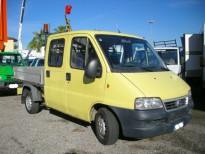 FURGONE: DUCATO 7 POSTI + CASSONE FISSO 2004 FIAT CAMION