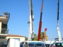 CESTELLO AEREO: TRADE  PM STAR 165  16.50 Mt. NISSAN PIATTAFORME AEREE