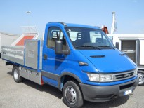 DAILY CASSONE FISSO- 05 CON BOX PORTATREZZI IVECO CAMION