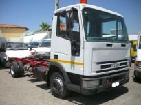 :EUROCARGO 80E15 GRU + CASSONE (NUOVI)-Vasta scelta di camion: eurocargo con gru: iveco 80e15,75e14,65e14 IVECO RIBALTABILE